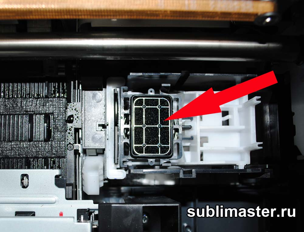 Как заменить впитывающую прокладку в принтере epson t50