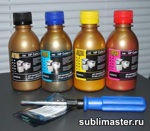Тонер для цветного лазерного принтера